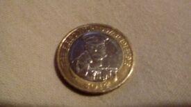 2014 world war 1 2 pound coin
