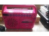 BUSH PINK CD RADIO .CD NOT WORKING .