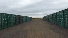 Self storage containers available