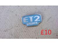 Piaggio Vespa ET2 / ET4 Parts : Vespa ET2 Badge, Spark Plug Cover, battery cover, floor mats
