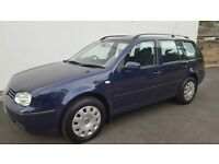 ******VOLKSWAGEN GOLF ESTATE 1.9 TDI .1 OWNERS.FSH.FULL MOT.*****