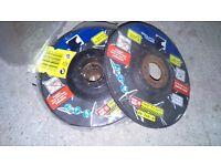 4 inch metal discs,,7