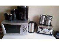 Microwave toaster kettle and more £50