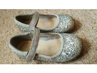 Girls glitzy shoes size 9