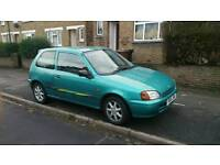 1996 TOYOTA STARLET SPORTIF 1.3 3DR HATCHBACK BLUE CHEAP YOUNG DRIVER INSURANCE