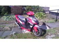 Lexmoto gladiator 125cc £750