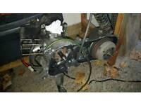Zip 50cc a.c. engine