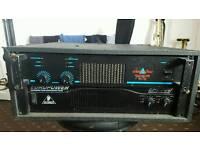 2x power amps