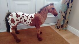 """Toy Pony - 26"""" high - 36""""long - 19"""" to 'saddle' height"""