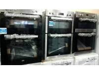 Electric Double Ovens new used.PRP £299, sale £131