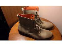 Superdry Khaki Boots Mens UK Size 10