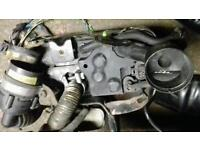 Bkd 2 tdi auxiliary heating unit complete 04-08