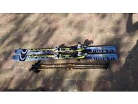 Salomon Verse 10 Ski's & Poles - 160cm with Bindings