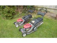 Honda hrx 476 petrol roller mowers x 2 cost £800+ each