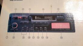 Sennet car stereo digital radio auto reverse cassette player boxed unused