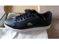 Lacoste Carnaby Trainers Size 10