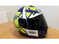 Valentino Rossi AGV sv motorcycle helmet in Large. Unmarked