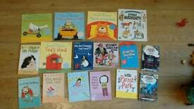 Bundle of kids books 50p each ideal for book advent calendar
