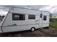 Five berth caravan