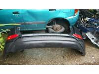Hyundai tucson new shape rear bumper complete black 12-17