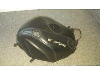Honda vfr 800 vtec black bagster tank cover