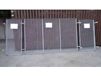 WIRE MESH WINDOW GUARDS MANY USES