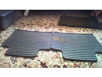 Set of 4 used car mats for Subaru Impreza 2003 AWD GX in very good condition