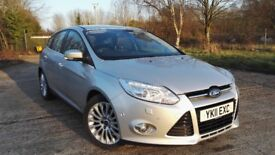 2012 Ford Focus Titanium X 1.6 TDCI Excellent Condition Great Spec