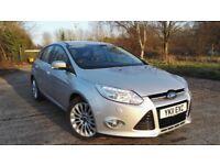 2012 Ford Focus Titanium X 1.6 TDCI Excellent Condition Great Spec