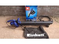 Einhell BG-EL 2300/1 2300W Electric Single Speed with 3-Function Leaf Blower Garden Vacuum
