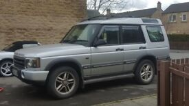 Landrover TD5 discovery 2 7seater Manual