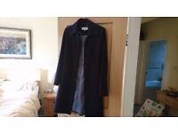 Ladies Calvin Klein coat worn 3 times size10/12