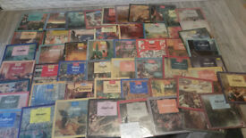 170 + job lot of vintage vinyl records all genres car boot joblot