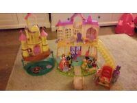 Princess Sofia castle toy bundle