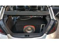 Car audio bluetooth subwoofers amplifier stereos xenons led drl navigation speakers parking sensors