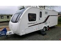 Caravan - Swift Challenger SE 645 4-berth 2014 with mover
