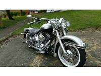 Harley heritage softail 100th anniversary immaculate showbike