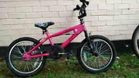 Pink 18'' BMX Bike