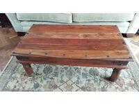 Coffee Table - Solid Hard Wood