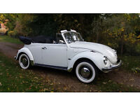 1972 VOLKSWAGEN BEETLE 1302 KARMANN CONVERTIBLE LHD! Like new