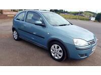 VAUXHALL 2006 CORSA C 1.2i 16V SXi+ [80] ** 1 Yrs Mot&Serviced Nice Looking Car ** (blue) 2006