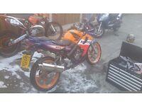 Honda CBR 125 rs model 2007