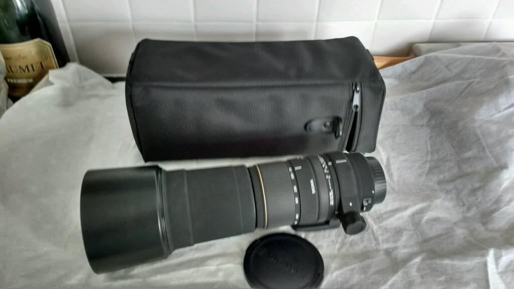 Sigma DG APO 170-500mm lenz