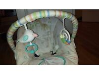 Baby rocker. BrightStarts baby rocker. Verry good condition, like new.
