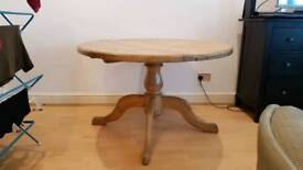 Antique Pine Dining Table (can deliver for small fee)