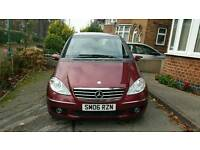 Mercedes A class Avantgarde AUTO - 12 Months Gold RAC warranty remaining