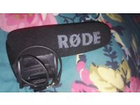 Rode Video mic pro 75GBP RRP £180