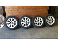 Toyota Avensis 16 inch alloy wheels and tyres