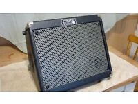 crate limo tx50d mains/battery guitar amp