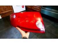 Audi tt passenger rear light